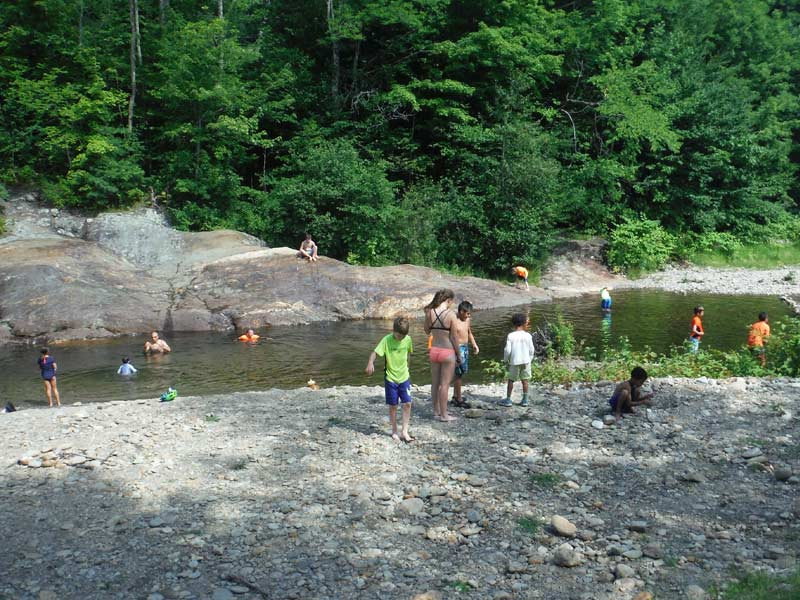Splashing around in the water after getting muddy in the sun is a classic summer adventure! Mud City Adventures operates out of Lamoille County in Central Vermont.