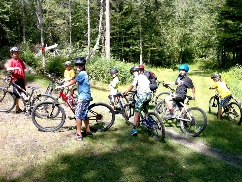 Waterbury Summer Camp for kids, Mud City Adventures, takes kids on fun and safe mountain bike adventures for beginners and experienced riders.