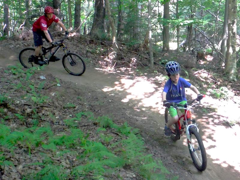Our mountain bike instructors are very experienced and never your child out of eyesight or earshot when on the trails. Mud City offer Mountain Bike Camps for Kids in Waterbury too!