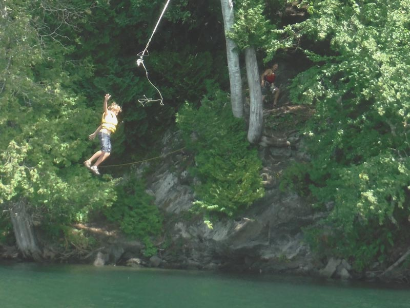 Mud City Adventures knows all the best swim spots in Vermont. We'll take the kids hiking and then cool off at a rope swing or a small cliff jump.