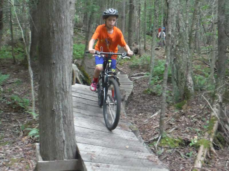 Stowe VT Summer Camp for Kids - Mud City Adventures - We'll take the kids out for a long mellow ride followed by a picnic! This adventure isn't just for kids though, we'll take any group out!
