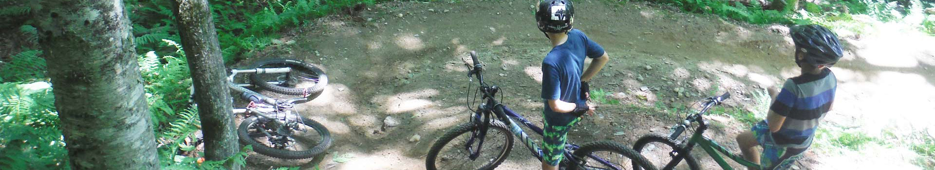 Mud City Adventures Mountain Bike Camp is for all abilities, but you should be comfortable on a bike. Call us our register online for this summer's MTB camp!