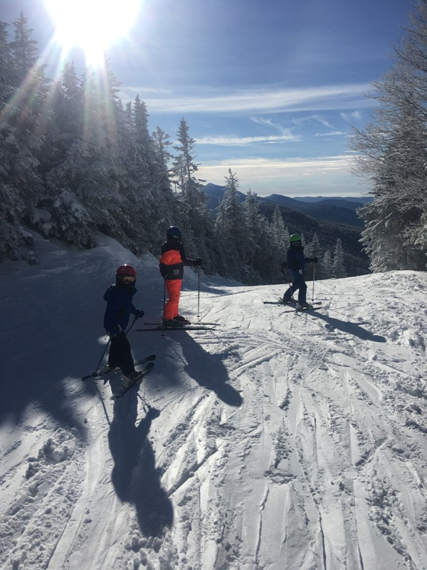 Here's a group of shredders ripping up Jay Peak on ski bikes. If you haven't tried ski biking, Mud City is more than happy to take you on the adventure of a lifetime.